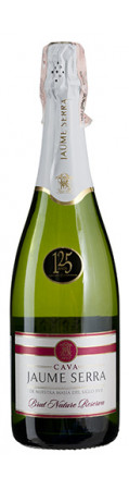 игристые Cava Jaume Serra Brut Nature Reserva, J.Garcia Carrion 0,750