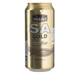 пиво Brains SA Gold 0,440