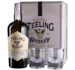 виски Teeling Small Batch + 2 glasses, gift box